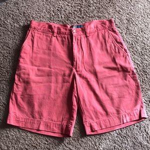 Polo Shorts (dark salmon)